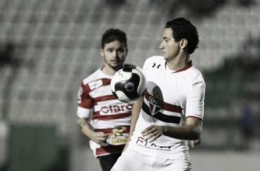 São Paulo empatou quatro, de cinco jogos no campeonato (Foto: Rubens Chiri/São Paulo FC)