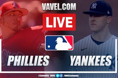 Highlights and Runs: New York Yankees 7-8 Philadelphia Phillies in MLB 2021