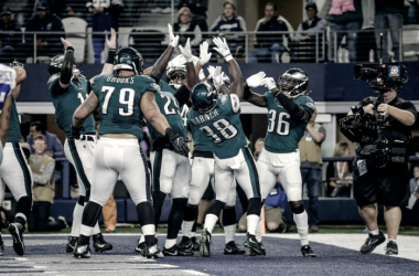 La defensa fue la protagonista de la noche | Foto: Philadelphia Eagles