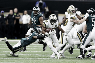 New Orleans Saints temrinó como número uno de la NFC // Foto: Philly Voice