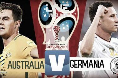 Australia-Germania, LIVE Confederations Cup 2017 (2-3): vincono i tedeschi, con più di un brivido