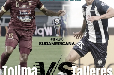 Talleres y Tolima pertenecen al grupo G de la Copa Sudamericana