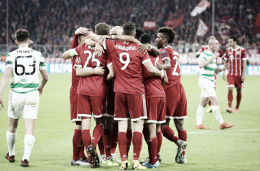 Champions League: Bayern Monaco dilagante, Celtic battuto 3-0