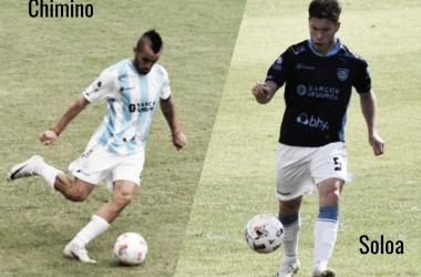 Chimino y Soloa, jugadores de Atlético Rafaela.