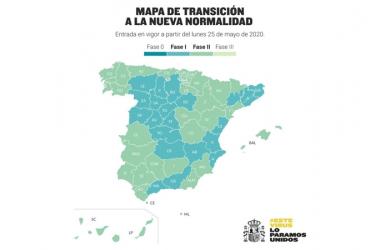 Madrid, Barcelona y Castilla y León logran pasar a la fase 1