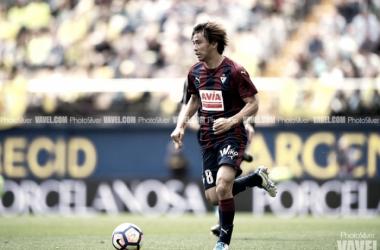 Inui, jugador del Eibar | Foto: PhotoSilver - VAVEL