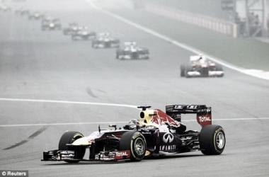 Following the mid-season break, Vettel would be in a league of his own
