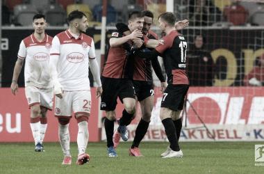 Hertha BSC rescata un punto en Düsseldorf (3-3)