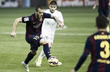 Mirandés - FC Barcelona B: puntuaciones del FC Barcelona B, jornada 38 de Liga Adelante