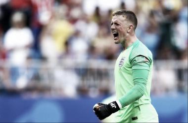 El portero inglés fue elegido mejor jugador del partido | Foto: England