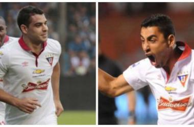 Alcoba(der) y Ramis(izq) llegan para reforzar al equipo Universitario.