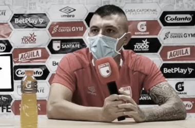 """Leonardo Pico: """"Vamos por buen camino, el objetivo es pelear el título"""""""