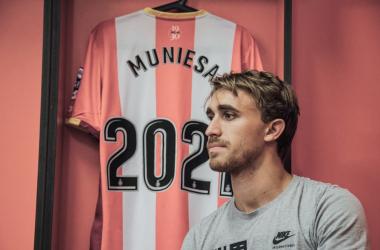 Muniesa | Foto: Girona FC