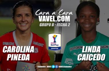 Cara a cara: Carolina Pineda vs Linda Caicedo
