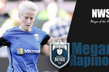 Seattle Reign FC's Megan Rapinoe named NWSL Player of the Month