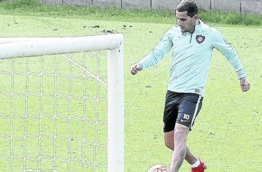 El Pipi volvió a hacer fútbol | Foto: Olé