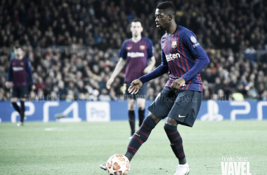 Imagen de Dembélé, jugador del FC Barcelona. FOTO: Noelia Déniz