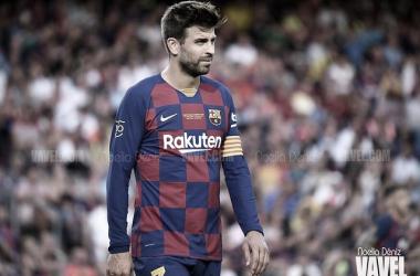 Gerard Piqué, uno de los capitanes del Barcelona | Foto: Noelia Déniz - VAVEL