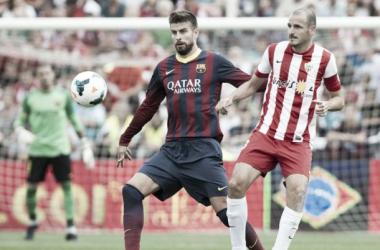 Almería-Barcelona: puntuaciones Almería, jornada 7
