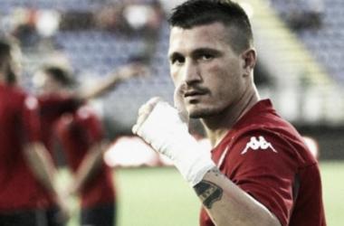 El jugador del Cagliari y su fanatismo por Boca. Foto: Taringa
