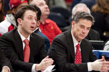 Richard and Rick Pitino are just two of the many family combinations found in NCAA coaching ranks. Photo Courtesy of Associated Press