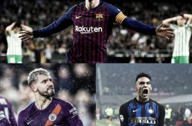 Goleadores argentinos en las cinco grandes ligas de Europa