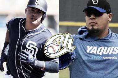 Charros hace oficial la incorporación de Christian Villanueva y Alex Delgado