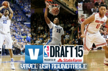 Who will go first in the real 2015 NBA Draft? Photo: Zach Drapkin