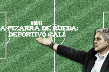 La pizarra de Rueda: Deportivo Cali