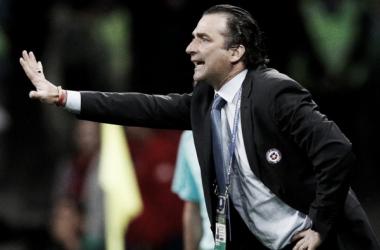 """Juan Antonio Pizzi: """"Pretendemos ser más fuertes que el rival"""""""