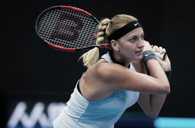 Petra Kvitova in action in Beijing [Photo credit: Jimmie48 Tennis Photography]