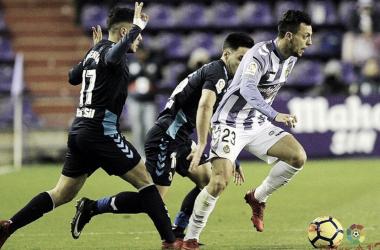 Partido del Real Valladolid contra Cultural   LaLiga 1 2 3