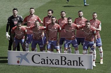 Primera plantilla del Granada// FOTO: Granada CF
