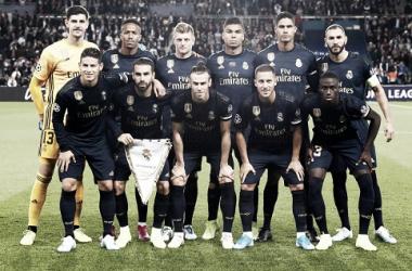 Los jugadores del Real Madrid en el encuentro frente al PSG / Foto: Real Madrid