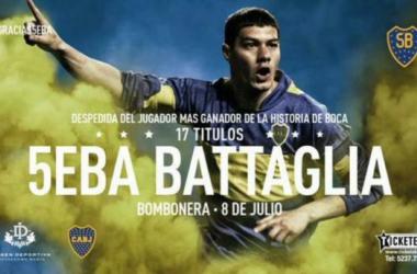 #Gracias5eba - Questa notte Battaglia saluta la Bombonera