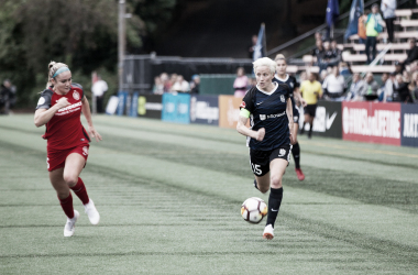 Portland Thorns will host the Seattle Reign in the first semi-final to advance to the 2018 NWSL Championship. (Photo: Lindsey Trapnell)