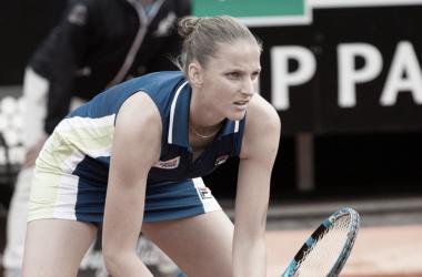 Pliskova confirma favoritismo contra Sakkari e vai à decisão em Roma