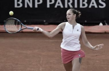 Karolína Plisková venceu Vera Zvonareva no WTA 1000 de Roma 2021 (WTA / Divulgação)