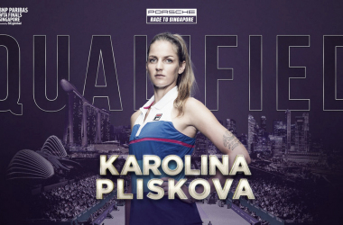 Karolina Pliskova will make her third consecutive appearance in Singapore | Photo: WTA