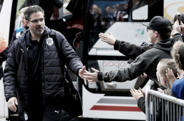 Wagner saludando a sus aficionados. Foto: PA