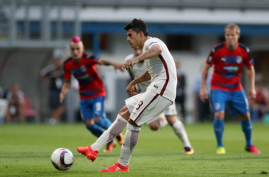 Roma - Viktoria Plzen, Europa League 2016/17 (4-1): triplo Dzeko, Zeman, la chiude Perotti