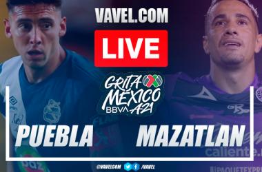 Goals and highlights: Puebla 2-0 Mazatlan FC in Liga MX 2021