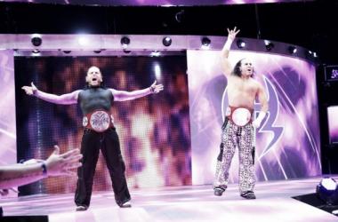 Jeff y Matt Hardy aparecen en el Raw post-WrestleMania. Foto: WWE.com