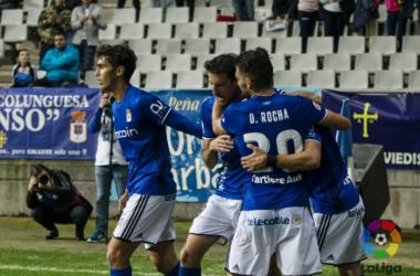 UCAM Murcia - Real Oviedo: seguir por el buen camino. (Fotos: www.laliga.es)