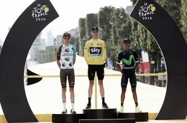 Tour de Francia: Nairo Quintana repitió podio en el tricampeonato de Froome