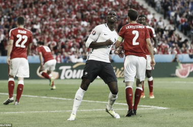 Pogba was the star man, hitting the woodwork twice (photo; Reuters)