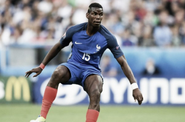 Paul Pogba in action for France during Euro 2016 | Photo: Sky Sports