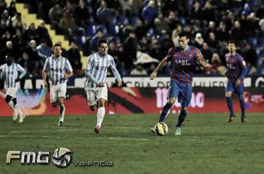 El Levante puede devolverle el descenso al Málaga