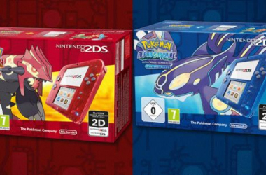 Pokemon Omega Ruby and Alpha Sapphire get unique 2DS console bundles