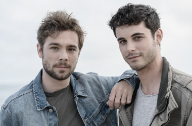 Pol y Bruno   Fuente: Cuenta Oficial de Twitter Movistar +